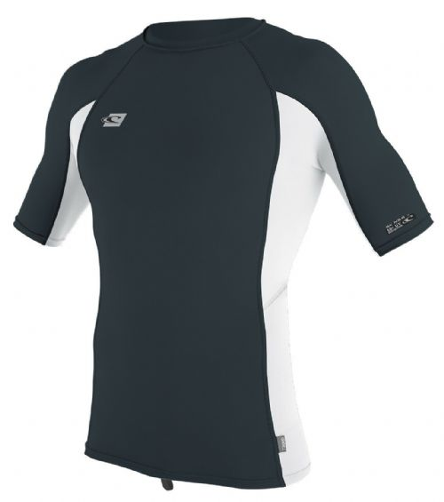 REDUCED.O'NEILL MENS RASH VEST.PREMIUM SKINS UPF50 SUN PROTECTION T SHIRT TOP 8S
